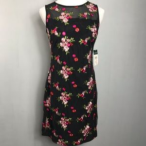 Lauren Ralph Lauren Floral Prom Sheath Dress